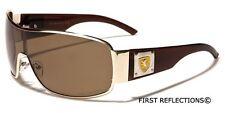 Polarized Mens Premium Aviator Sunglasses Khan Fishing Sport Glasses Black White