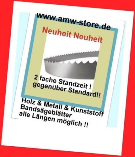 13 mm Holz Metall Kunststoff Bandsägeblatt 3430mm Basa 5 Scheppach
