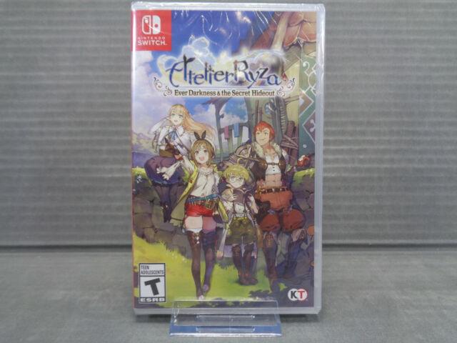 Atelier Ryza: Ever Darkness & The Secret Hideout  (Nintendo Switch, 2019) New