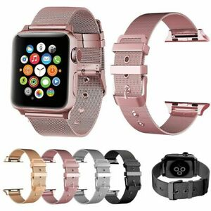 For-Apple-Watch-Band-42mm-38mm-44mm-40mm-Series-5-4-3-2-Milanese-Stainless-Steel
