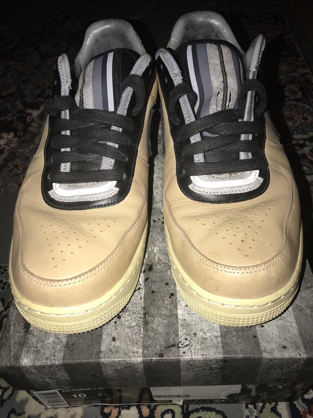 Nike riccardo tisci air force 1 Vachetta Tan