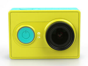 Green Original XiaoMi Yi 1080P Ambarella A7 16MP WIFI Sports Mini DV Action Cam