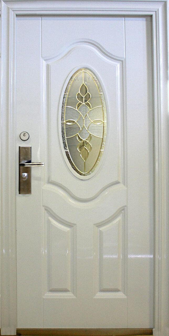 N75,Wohnungstür Sicherheitstüren Haustür Tür Türen weiß Innen Links 08-100x205cm