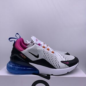 Details about NEW Nike Air Max 270 Mens Size 13 White Multi Fuchsia Magma  Shoes CW6989-100