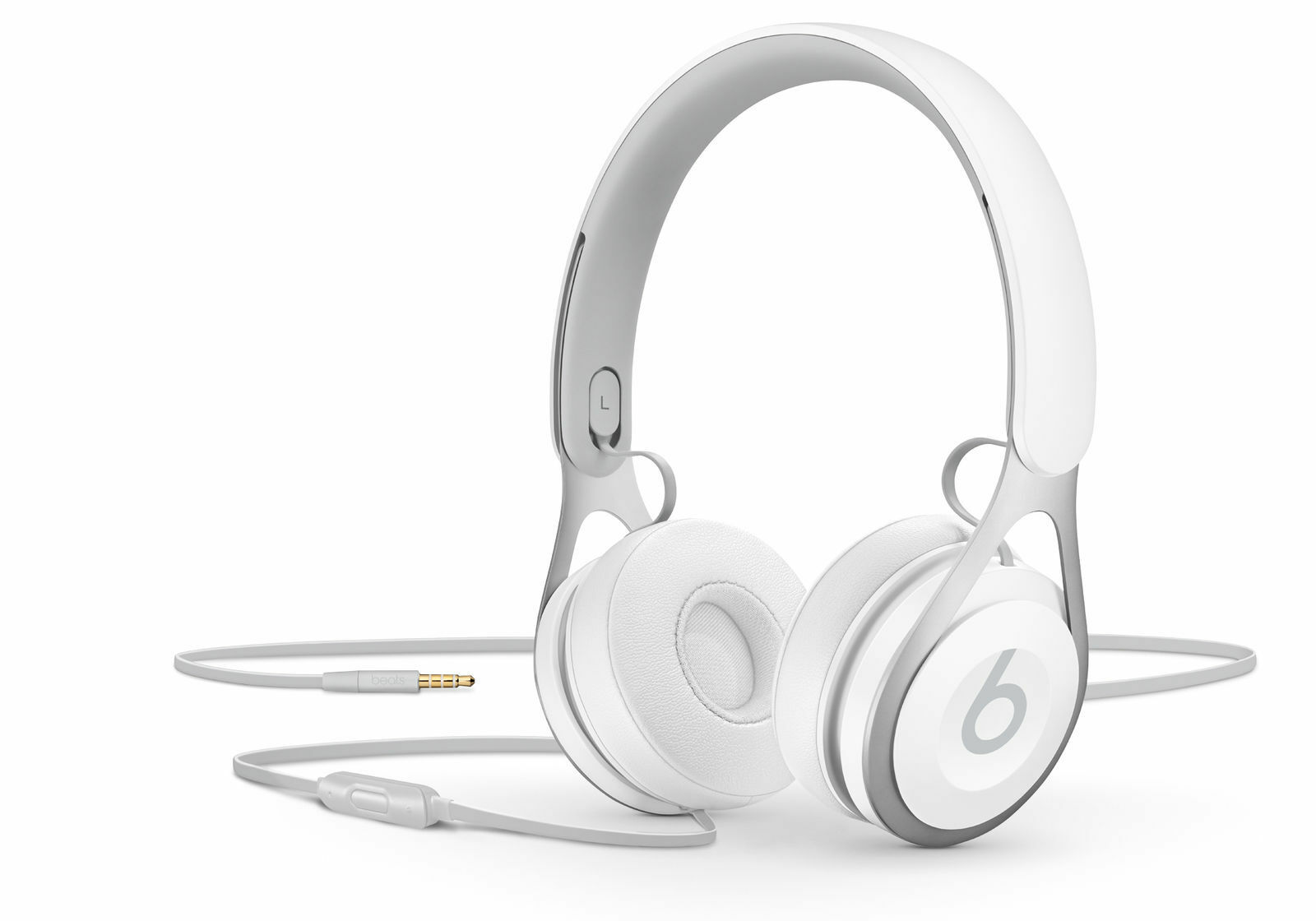 Beats By Dr Dre Ep Headband Headphones White Ebay Headphone Solo Hd1 Stock Photo