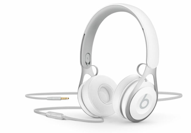 Beats By Dr Dre Ep Ml9a2ll A Headphones White For Sale Online Ebay