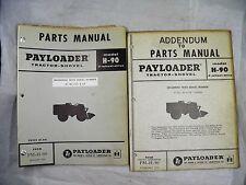 Ih Hough H 90 Payloader Parts Manual Oem 27ag1001 Up Diesel