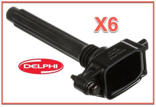6 Ignition Coils /& 6 Spark Plugs for Chrysler Dodge JEEP RAM 3.6L V6