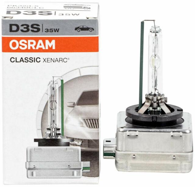 1X Xenon D3s Lamp Burner Osram Headlight Xenarc Bulbs 35W 4300 66340Clc Aa