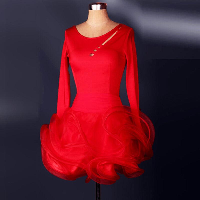 NEU Latino salsa Kleid TanzKleid LatinaKleid Latein Kleid Turnierkleid FM109