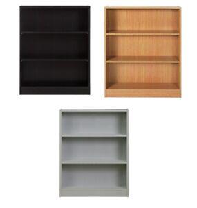 Argos Home 3 Tier Small Baby 2 Shelf Bookcase - Oak / White / Black