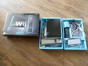 NINTENDO-WII-BLACK-CONSOLE-BOXED-WORKING-MOTION-PLUS-CONTROLLER