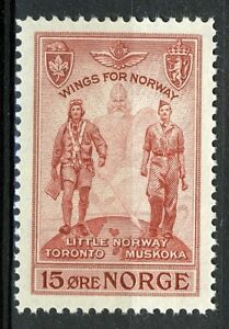 Norway-1946-Wings-for-Norway-MNH-NK-349