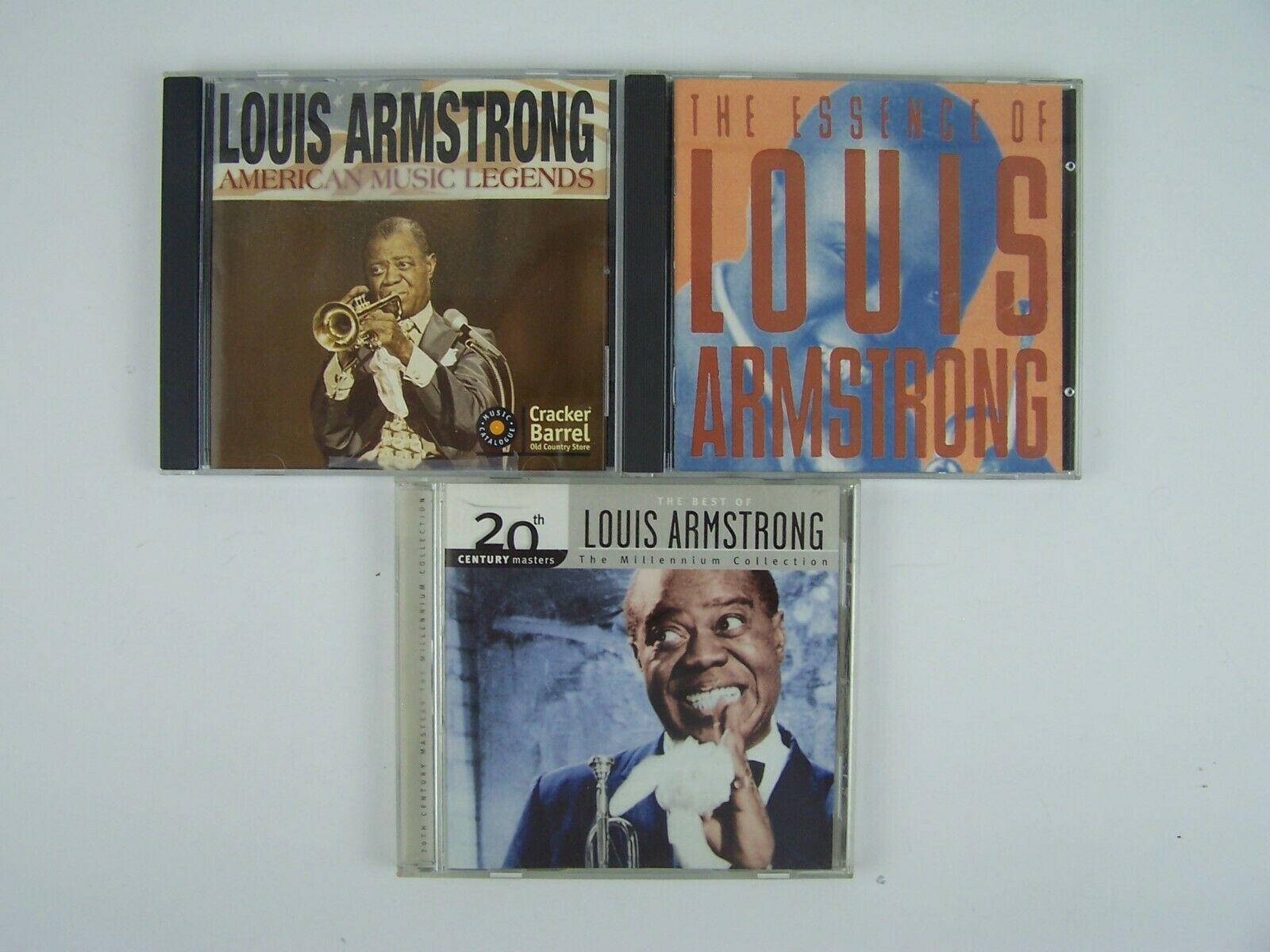 Louis Armstrong 3xCD Lot #1