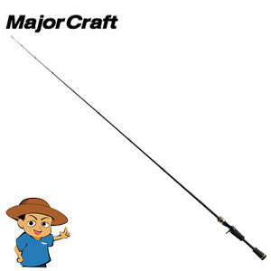 Major-Craft-BENKEI-BIC-662M-Medium-6-039-6-034-bass-fishing-baitcasting-rod-pole