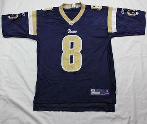 d4f5ac213 Sam Bradford St Louis Rams Jersey Adult M NFL RBK Reebok  8 On Field ...