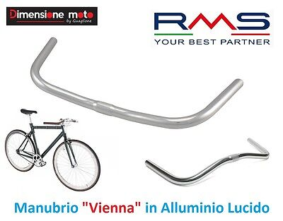 manubrio bici Manubrio vintage da corsa o fixed in alluminio