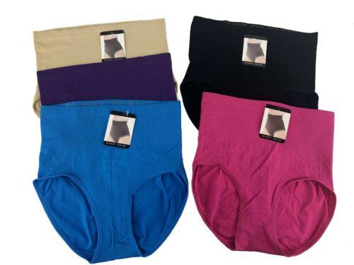 Lot of 5 Women Body Shaper Control Slim Tummy Corset High Waist Panty Underwear