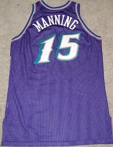 01fbc97a6 Image is loading DANNY-MANNING-UTAH-JAZZ-GAME-USED-WORN-JERSEY-