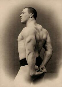 Antique-Photo-German-Wrestler-Hackenschmidt-Photo-Print-5x7