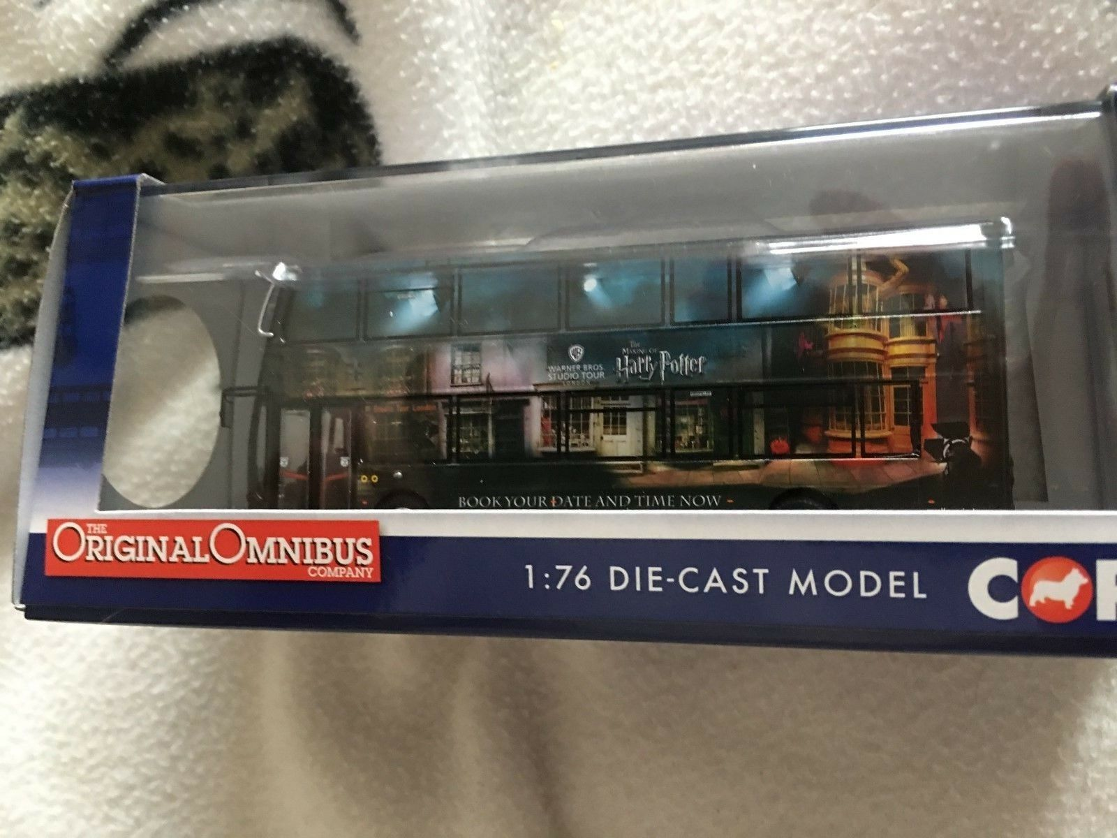Wright Eclipse Gemni 2, Harry Potter Warner Bros. Studio Tour Bus Corgi Modelo