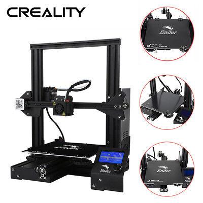 Creality 3d Ender 3d Drucker Prusa I3 220x220x250mm Kompatibel Mit Tpu/pla/abs GläNzende OberfläChe 3d-drucker