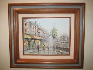 SIGNED-Mid-Century-Modern-Listed-Artist-Dorothy-Louise-Bowman-Original-Painting