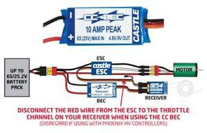 castle creations cc bec battery eliminator circuit 2s 6s 010 0004 rh ebay com