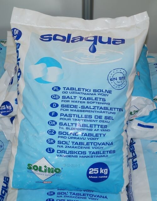 25kg Salz für Wasserenthärter TOP Qualität Salztableten Regeneration Entkalkung