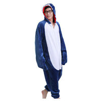 Expédié de Paris - Kigurumi Cosplay Pyjama Combinaison Requin Adulte S à XL