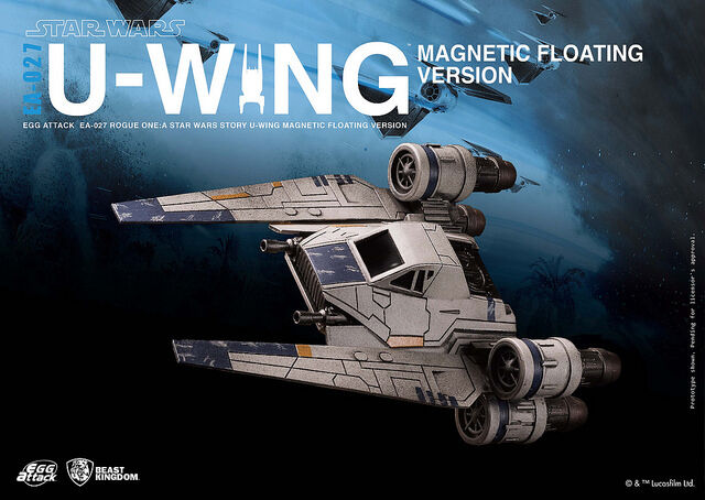 BEAST KINGDOM EA-027 ROGUE ONE STAR WARS STORY U-WING MAGNETIC FLOATING VER.
