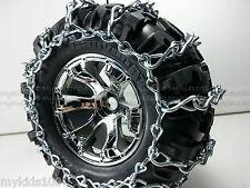 4 Summit HD RC Snow Chains For Traxxas 5673 5670 CanyonAT Tire 7.1x3.8x3.8 Revo
