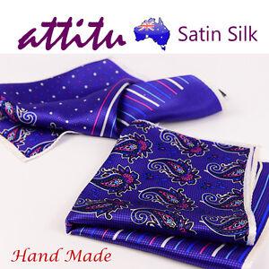 Satin-Silk-Men-Pocket-Square-Handkerchief-ATTITU-Bohemia-Series