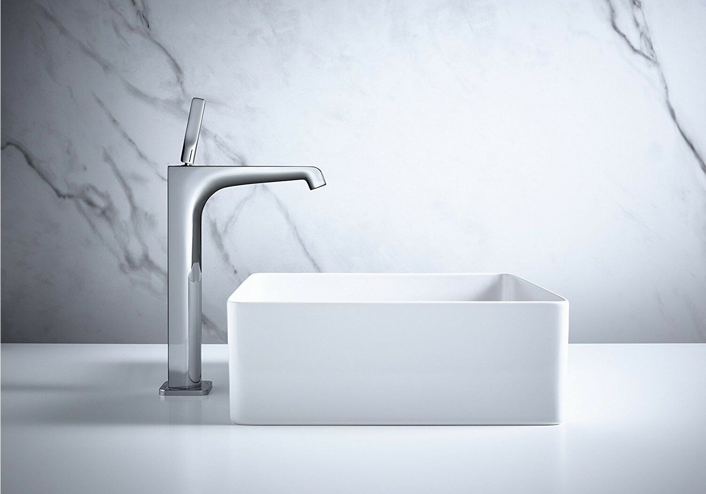 Hansgrohe AXOR Citterio E 36104000 Highriser Basin Mixer 250 for ...