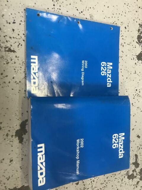 2002 Mazda 626 Service Repair Shop Workshop Manual Set W