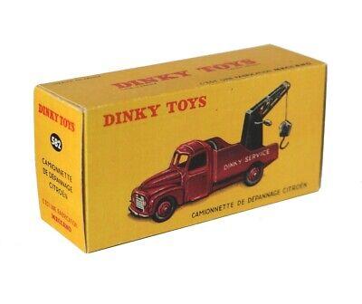 Repro Box Dinky Nr.35 A Citroen Camionnette de Depannage
