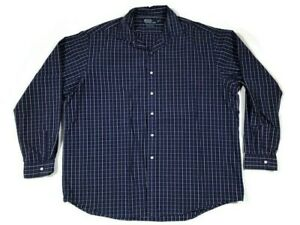 Polo-By-Ralph-Lauren-Long-Sleeve-Button-Up-Men-s-Shirt-Size-2XL-Chest-56-in
