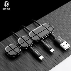 Kabelwickler Kabelhalter Kabelführung USB Kabel Aufwicklung Kopfhörer Halter