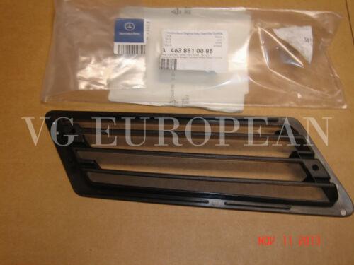 Mercedes-Benz G-Class Genuine Left Fender Air Intake Grille G500 G550 G55 G63