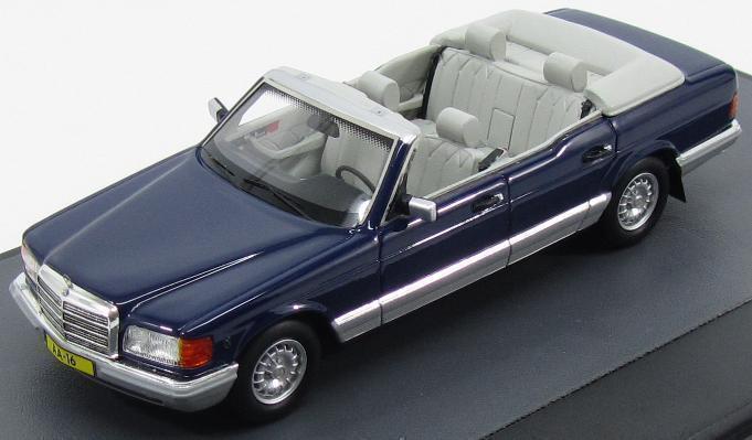 precios ultra bajos Matrix 1984 Mercedes Mercedes Mercedes W126 380 Sel Cocheuna Princesa Juliana Azul 1 43New artículo   suministramos lo mejor