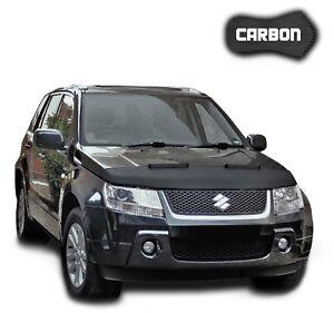Haubenbra Suzuki Grand Vitara 2 CARBON Hood Bonnet Bra Steinschlagschutz Cover