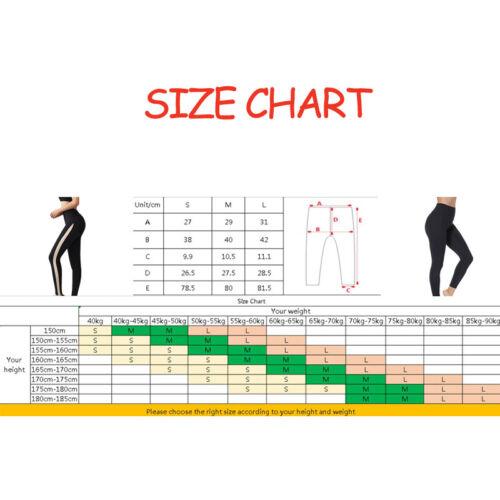 Hohe Taille Bauch Kontrolle Beinformer Slim Sculpting Legging Mider Shapewear DE