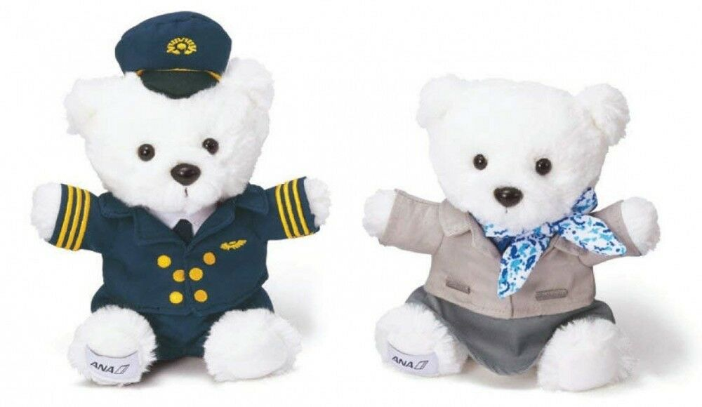 ANA International Flight In-Flight Sales Limited Item Flight Bear set
