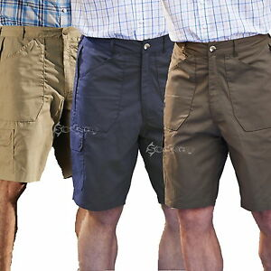 Mens Champion Bretton Elasticated Waistband Polycotton Cargo Shorts