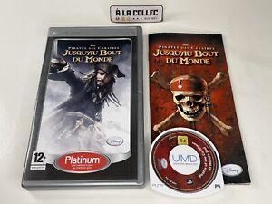 Disney Pirates des Caraibes Jusqu'au bout du monde - Sony PSP (FR) - Complet