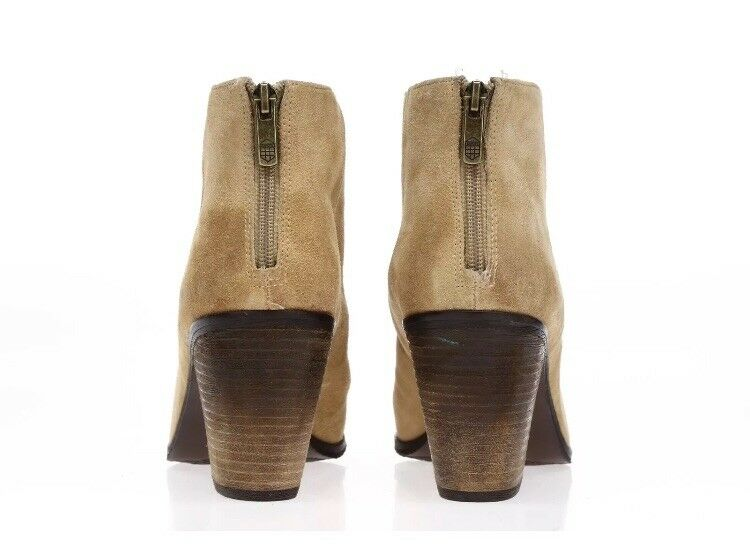 VINCE CAMUTO Ankle Damenschuhe 'Graysen' Beige Suede Ankle CAMUTO Stiefel Sz 8.0 NWOB a24904