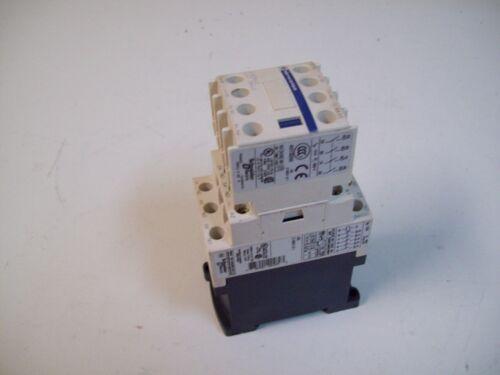 FREE SHIPPING!!! TELEMECANIQUE CAD50BD CONTACTOR RELAY W//LADN40 CONTACT BLOCK