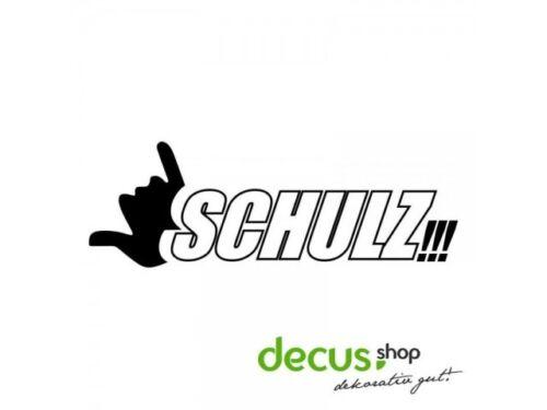 Schulz L 2375 13x4 cm //// sticker JDM Autocollant Vitre Frontale