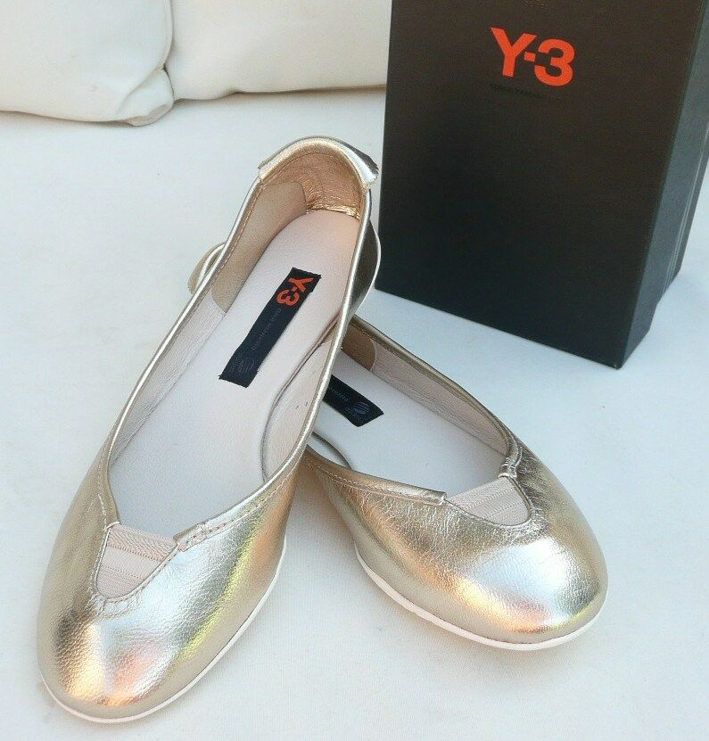 Y3 Y-3 Adidas Yamamoto 36,5 2,5 Ballerines Chaussons Nouvelles Chaussures