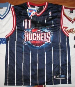 new style c9659 81558 Details about Houston Rockets YAO MING Throwback Jersey XL NWT NEW Reebok  Blue